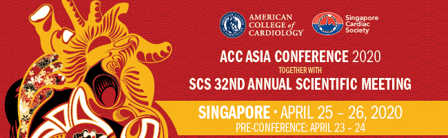 The ACC Asia Conference 2020, held together with the SCA 32nd Annual Scientific Meeting